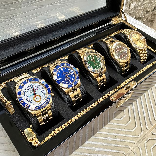 Watch Box with lock